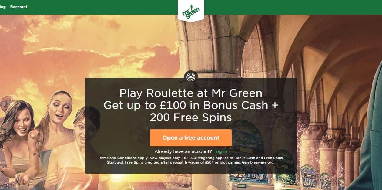 Roulette spelen bij Mr Green, waarom niet?